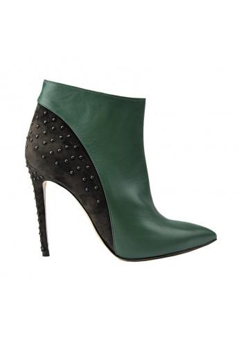 Tronchetto bicolore Verde/Nero